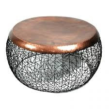 copper top coffee table beach kitchen table copper top dining zinc inspirations and round