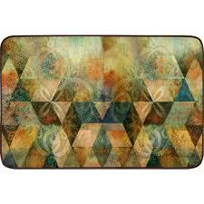 designer kitchen mats home dynamix designer chef 18 in x 30 in anti fatigue kitchen mat