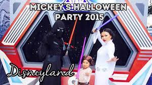 star wars trick or treating in disneyland mickey u0027s halloween