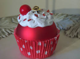 5 cupcake ornaments on etsy to decorate your tree