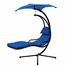 Hanging Chaise Lounge Chair New Hanging Chaise Lounger Chair Arc Stand Air Porch Swing Hammock
