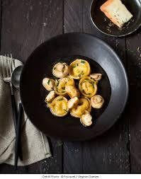 cuisine du moment tortellinis de maroilles fauquet aux chignons du moment et