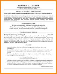 Retail Manager Resume Examples Charming District Manager Resume 6 District Manager Resume Samplel