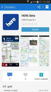 app store apk nokia s here maps beta listed on samsung app store new apk v1 0