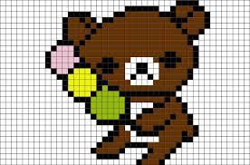 rilakkuma pixel art u2013 brik