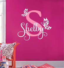 wall ideas initial wall decor wooden alphabet letters wall decor nursery wooden letters wall decor large letter wall decor butterfly name initial vinyl wall decals wall quotes nursery decal girl room decor vinyl stickers