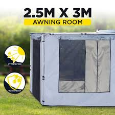4wd Shade Awning 2 5m X 3m Car Side Awning Room Roof Top Tent Me Outbaxcamping