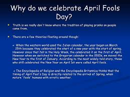 1st april in