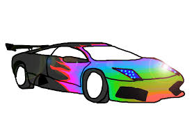 rainbow cars animated pictures of cars clip art library