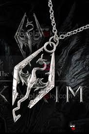 skyrim pendant necklace images The elder scrolls v skyrim cosplay necklace pendant jpg