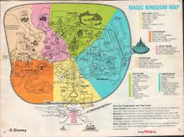Map Of Walt Disney World by Magic Kingdom Maps Galore Imaginerding