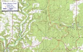 National Forest Map Colorado by Ridge Runner Trail Mark Twain National Forest Missouri