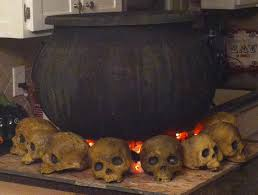 halloween witch pot witches cauldron