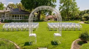 wedding arch kelowna wedding package ceremony world class catering guisachan house kelowna