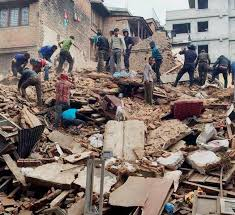 earthquake update earthquake live update toll mounts to 688 in nepal 30 in india