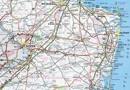 Trenton Nj Zip Code Map by Interstate Guide Interstate 195 New Jersey