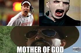 Nebraska Football Memes - mother of god nebraska meme
