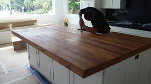 caribteak com teak butcher block countertop