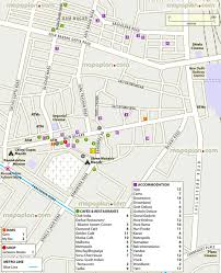 Map Directions Driving Delhi Map Paharganj Visitor U0027s Map Showing Driving Guide To New