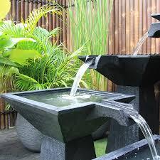 modern water feature modern outdoor water features australia outdoor designs