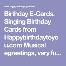 best 25 singing birthday cards ideas on pinterest funny