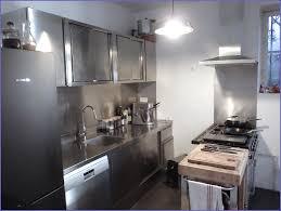 meuble de cuisine inox meuble cuisine inox brossé meuble idées de décoration de maison