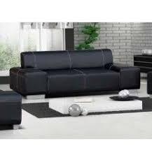 canapé simili cuir noir les 30 meilleures images du tableau canapés 3 places sur