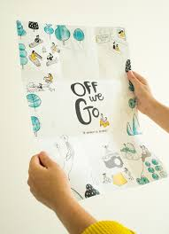 off we go on behance