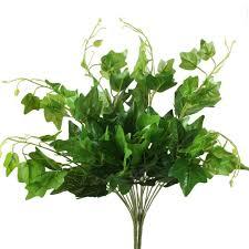 Fake Bushes Amazon Com Artificial Plants Hogado 2pcs Silk English Ivy Leaves