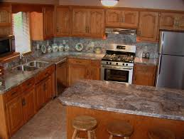 Oak Cabinets With Granite Countertops Rustic Oak Kitchen - Oak kitchen cabinet makeover