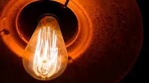macro of an vintage edison light bulb 4k stock footage video