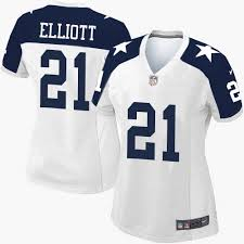 nike dallas cowboys s 21 ezekiel elliott limited white