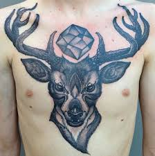 by nathan kostechko deer chest via dotworkers on
