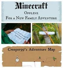 How To Create A Beautiful Backyard How To Create A Minecraft Scavenger Hunt Party Activity Birthday