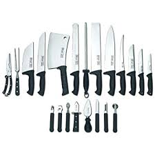 professional kitchen knives set slitzer germany 22pc professional chef s cutlery set