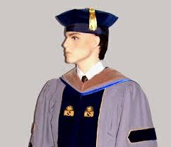 doctorate gown presidential academic regalia phd gowns hoods and tams