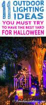 11 ways to create spooky halloween lighting halloween lighting