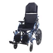 aluminium light weight recliner wheelchair lifeline corporation