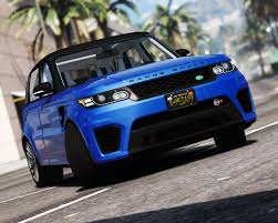 range rover sport 2016 range rover sport svr add on replace gta5 mods com