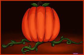 how to draw a pumpkin step by step halloween seasonal free