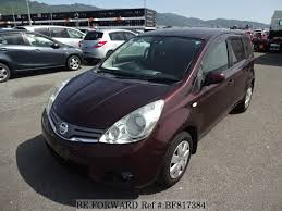 nissan note 2009 interior used 2009 nissan note 15 brownie interior dba e11 for sale bf817384