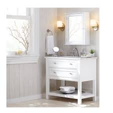 Home Decoraters Home Decorators Collection Austell 37 In Vanity In White With Home