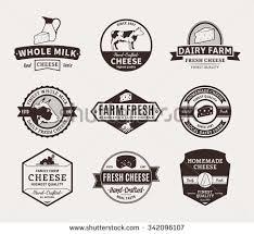 set butchery logo templates farm animals imagem vetorial de banco