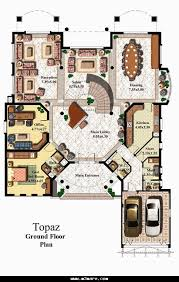 modern duplex villa plans detail