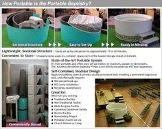 baptismal heaters the package baptistry portable electric