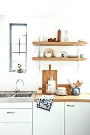 microwave wall shelf white unpolished birch wood shelves metal