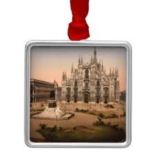 milan italy ornaments keepsake ornaments zazzle