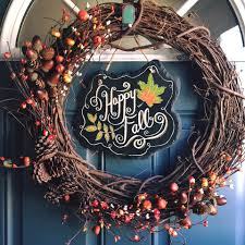 diy fall wreath u2014 weekend craft