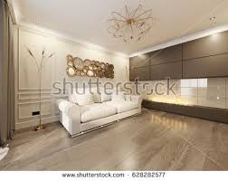 classic livingroom modern classic new traditional living room stock illustration