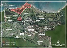 Map Puerto Rico The Plantation Club Golf Courses In Dorado Puerto Rico